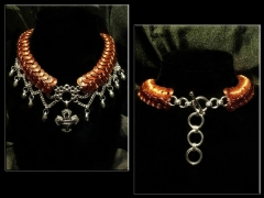 Custom Harley Davidson necklace.