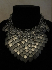 mixed scale chest/necklace