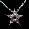 Pink Captive Star Pendant
