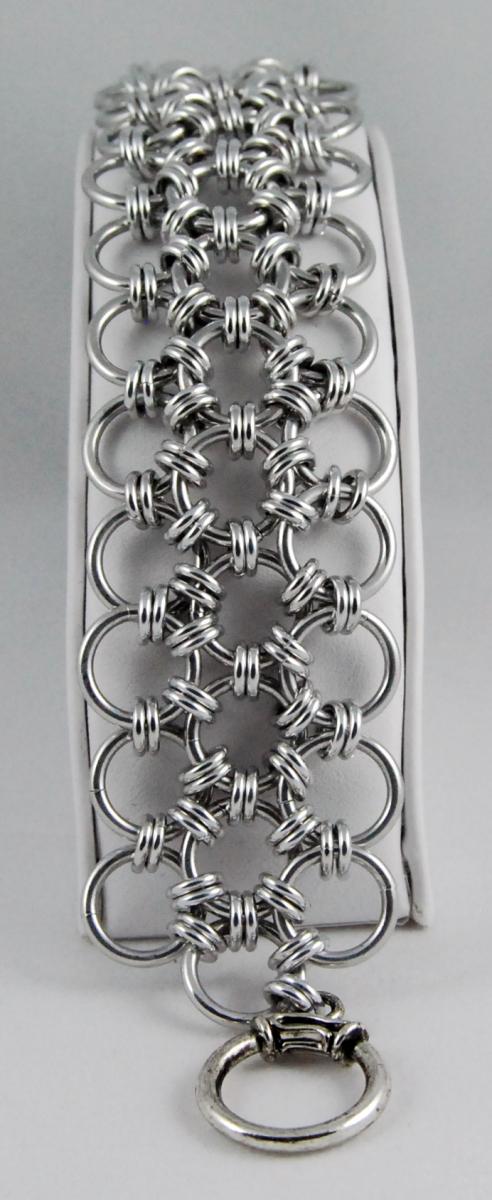Japanese 12 in 2 Bright Aluminum Bracelet