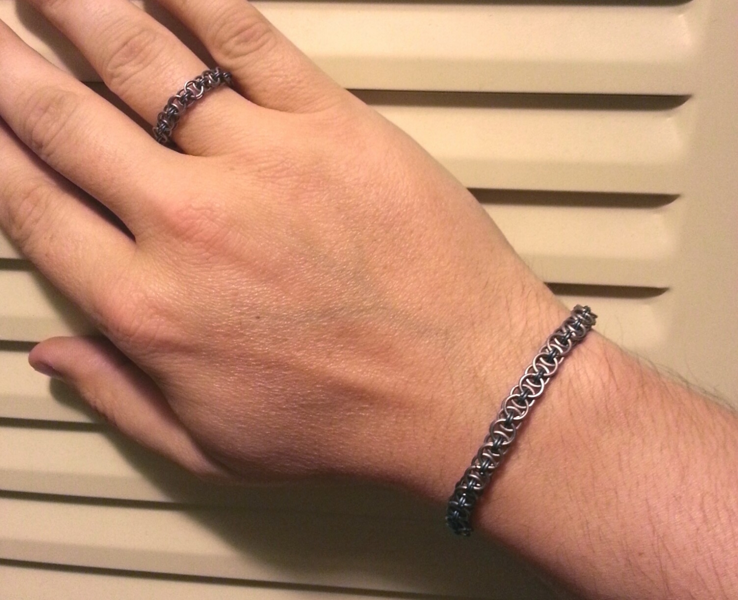 My bracelet And ring