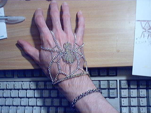 Silver Spider handflower