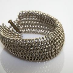 Nickel Silver Dragonscale Bracelet