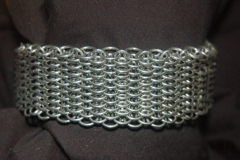 Bracelet cuff dragon scale