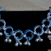 Blue Ice Dancers Bells - &#39;Slave&#39; Anklet