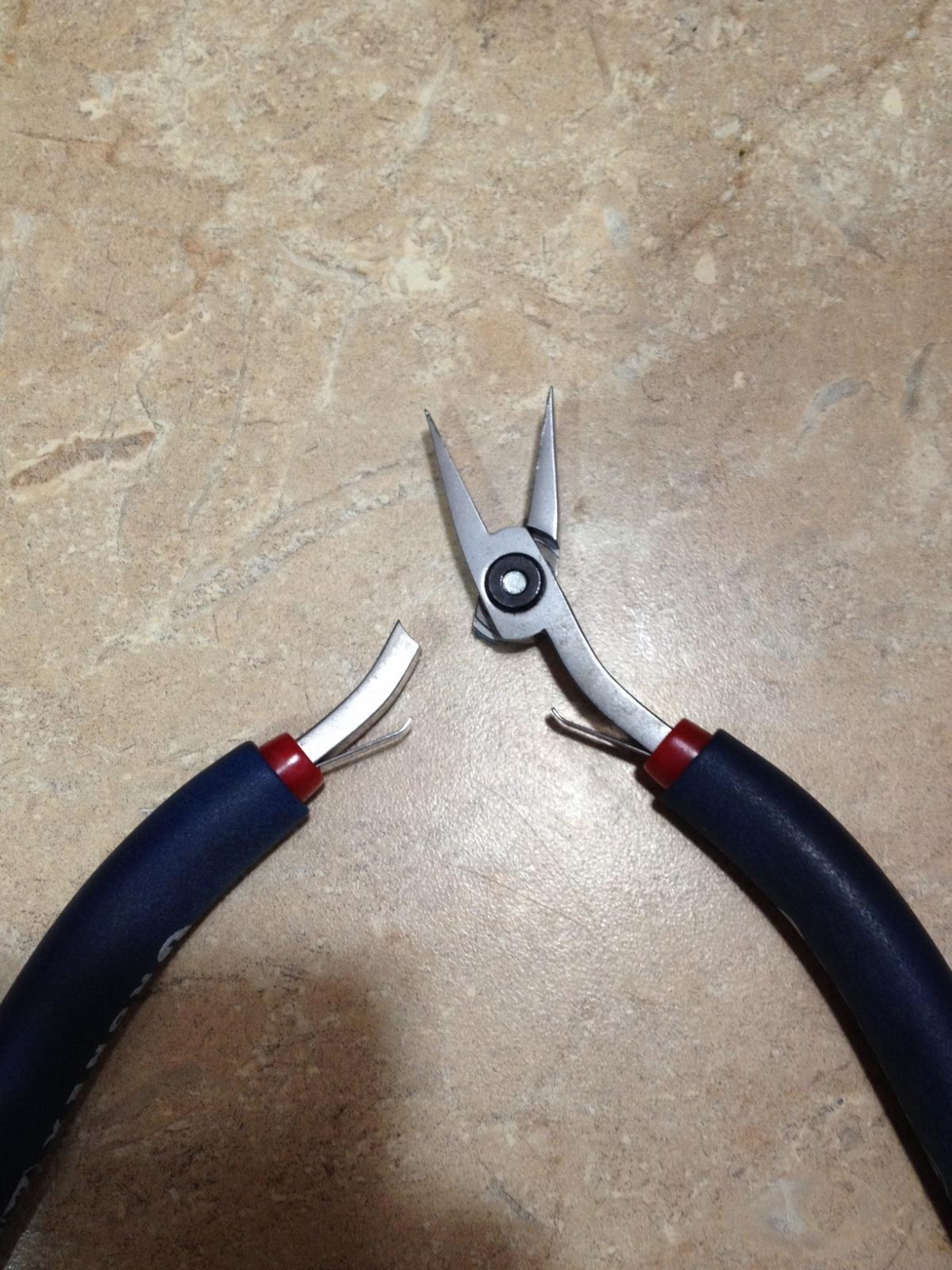 Tronex pliers feedback a bit disappointed in quality