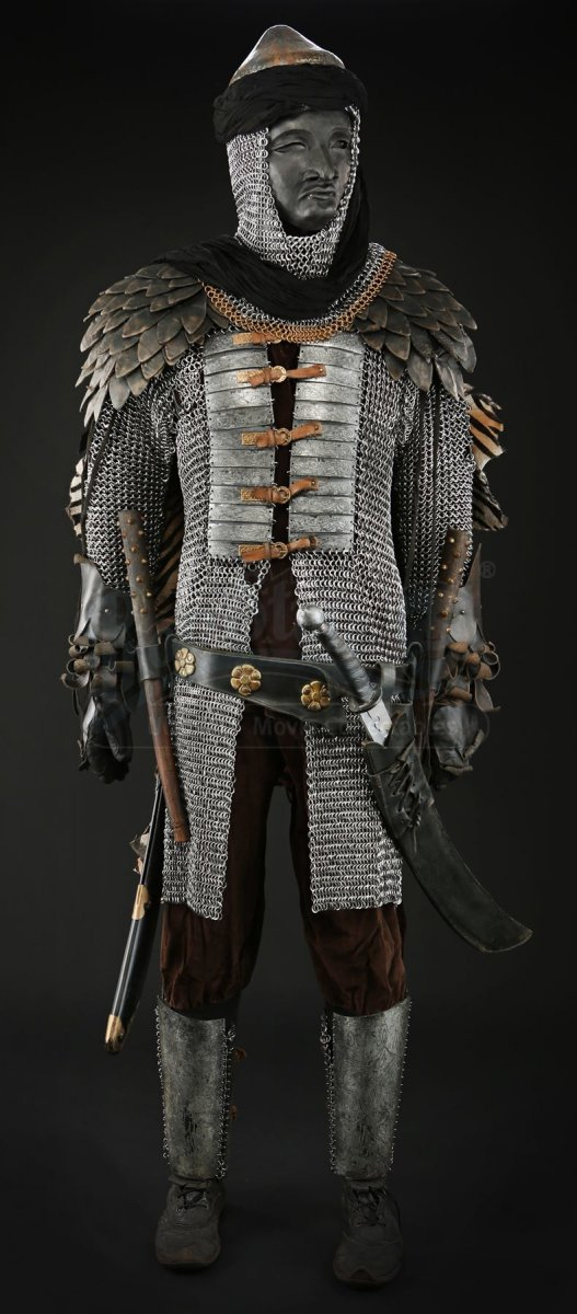 Seventh Son Assassin Armor - plates and maille by TheRingLord.com