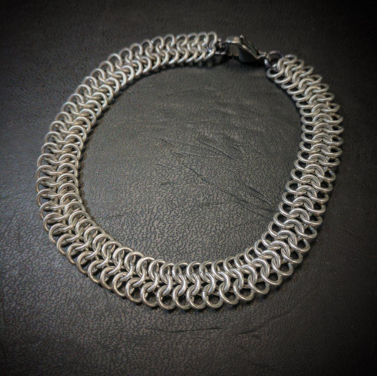 Sterling Silver, soldered