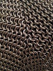 45 Sleeve Gusset -- Front Corner Seam Closeup