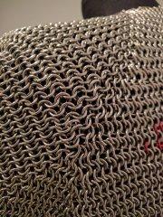 45 Sleeve Gusset -- Rear Corner Seam Closeup