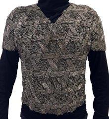 Star of David patterned shirt