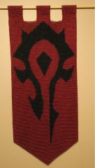 The WoW Horde Banner
