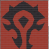 Horde banner inlay