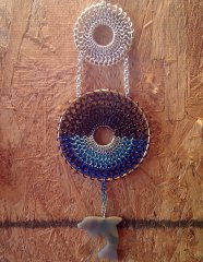 Chainmaille Dolphin Wall Hanging/Dream Catcher.jpg