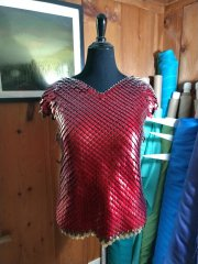 Scale Shirt with short sleeves