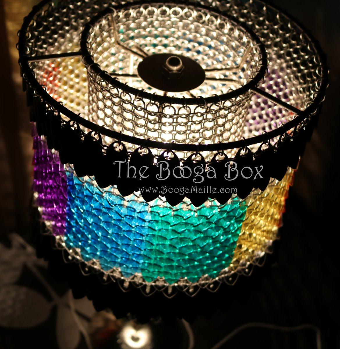 Small Plastic Scale Lamp