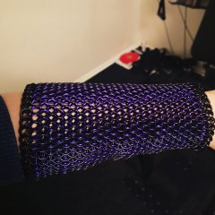 Dragonscale full forearm